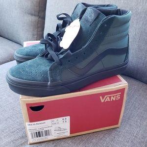 Brand New Vans Metallic Twill Sk8-hi shoes sz 7.5